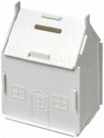 21011103f Skarbonka w kształcie domu Unit wykonana z tworzywa sztucznego
