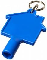 21087100f Klucz do skrzynek w kształcie domku Maximilian z brelokiem