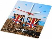 21053101f Prostokątny zegar ścienny Brite-Clock®