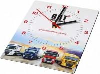 21053100f Prostokątny zegar ścienny Brite-Clock® z recyklingu