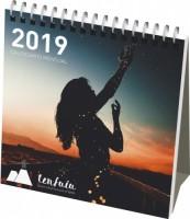 21237000f Kalendarz miesięczny na biurko Classic w twardej okładce