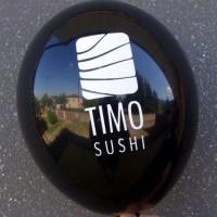 """balon-10 M Balony z nadrukiem 10"""" metalizowany"""