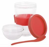 AP800397c kubek na jogurt z łyżeczką w komplecie