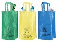AP741237c Kolorowe torby do segregacji odpadków