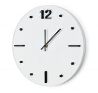 03068a zegar ścienny z przestrzennymi cyframi