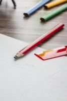 117776c-05 Ołówek stolarski niezatemperowany