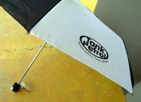 072980c-01 dwukolorowy składany parasol
