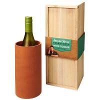 11299100f Chłodziarka do wina Terracotta