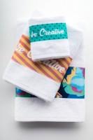 801371c-01 Ręcznik bawełna 70x140cm z nadrukiem sublimacyjnym full kolor
