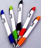 19502a długopis z kolorowymi wstawkami