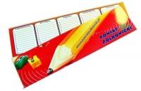 Zakładka 50x200 4+L/4 Zakładka 50x200mm - druk dwustronny - laminowana jednostronnie