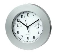 03046a Zegar z termometrem i higrometrem