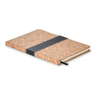 8706m Notatnik z okładką pokrytą korkiem