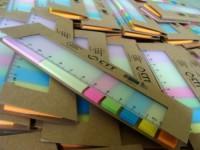 175079c-00 Karteczki samoprzylepne z linijką