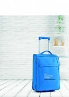 8343m walizka podróżna z rączka i ĸółkami w kolorze