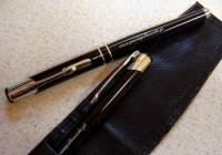 C PD Z5 2el Zestaw COSMO długopis z piórem w etui z ekoskóry