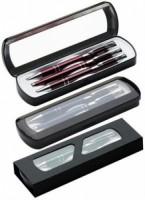 C PDO Z12 3el Zestaw COSMO długopis, pióro oraz ołówek w metalowym etui