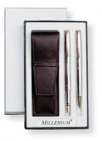 JOTA złoty Z2 skóra Lux Długopis oraz pióro JOTA złoty Z2 skóra Lux Długopis oraz pióro