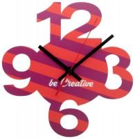 817871c Zegar ścienny z wyciętymi cyframi