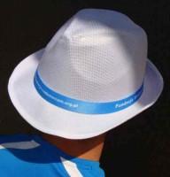 AP718139c tasiemka do kapelusza ze ZDOBIENIEM!