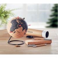 9722m-01 Globus na biurko z korka EKO