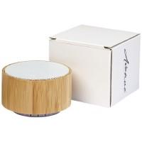 12410001f Bambusowy głośnik Cosmos z funkcją Bluetooth®
