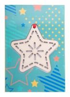 878171c-A Karta świąteczna, gwiazda