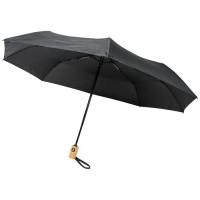 """10914301f Składany, automatycznie otwierany/zamykany parasol Bo 21"""" wykonany z plastiku PET z recyklingu"""