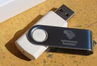 9871m-13-16G Pamięć USB ze słomy, pszenicy, PP 16GB