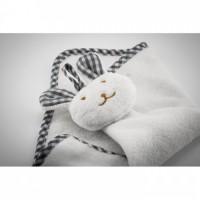 9777m-06 Ręcznik dziecięcy z króliczkiem