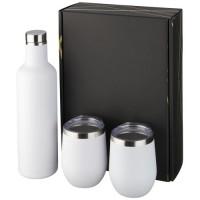 10062102f Zestaw upominkowy składający się z miedzianych izolowanych próżniowo butelek i kubków Pinto i Corzo