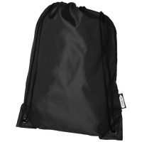 12046100f Plecak Oriole ze sznurkiem ściągającym z recyklowanego plastiku PET