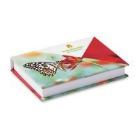 COMB01 karteczki w twardej oprawie ze zdobieniem full color + 4 kolory na karteczkach COMB01 karteczki w twardej oprawie ze zdobieniem full color + 4 kolory na karteczkach