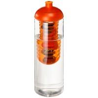 21069305f Butelka H2O Vibe z wypukłym wieczkiem o pojemności 850 ml i zaparzaczem