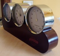 03051a Zegar z higrometrem i termometrem