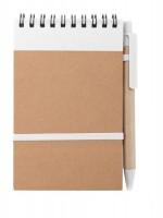 162973c-01 Notes z elastyczna gumką i długopisem