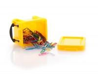 AP741496c pudełko z klipsami biurowymi