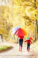 122376c Parasol wielokolorowy dla dzieci