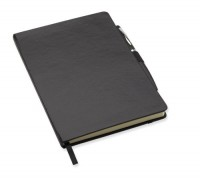 8109m Notatnik A6 z metalowym długopisem