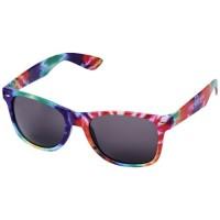 10100300f Okulary przeciwsłoneczne Sun Ray ze wzorem typu tie dye