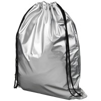 12047000f Błyszczący plecak Oriole ze sznurkiem ściągającym