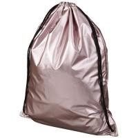 12047003f Błyszczący plecak Oriole ze sznurkiem ściągającym