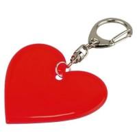 32497p-08 Brelok odblaskowy – serce