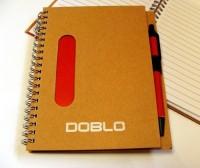 37967p-08 Notatnik eco z długopisem