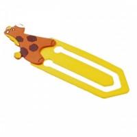 39857p Drewniana zakładka do książek - Żyrafa