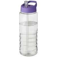 21087711f Bidon H2O Treble o pojemności 750 ml z wieczkiem z dzióbkiem