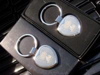 32777p Brelok metalowy serce