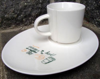 C_235 200ml LUCAS COFFEE SET 200ml z talerzykiem