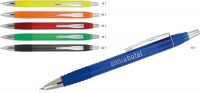 2915q Długopis plastikowy z gumowym uchwytem 2915q Długopis plastikowy z gumowym uchwytem