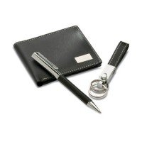 7109k Portfel, długopis, breloczek